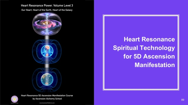 Heart Resonance 5D Ascension Manifestation and Shifting Realities